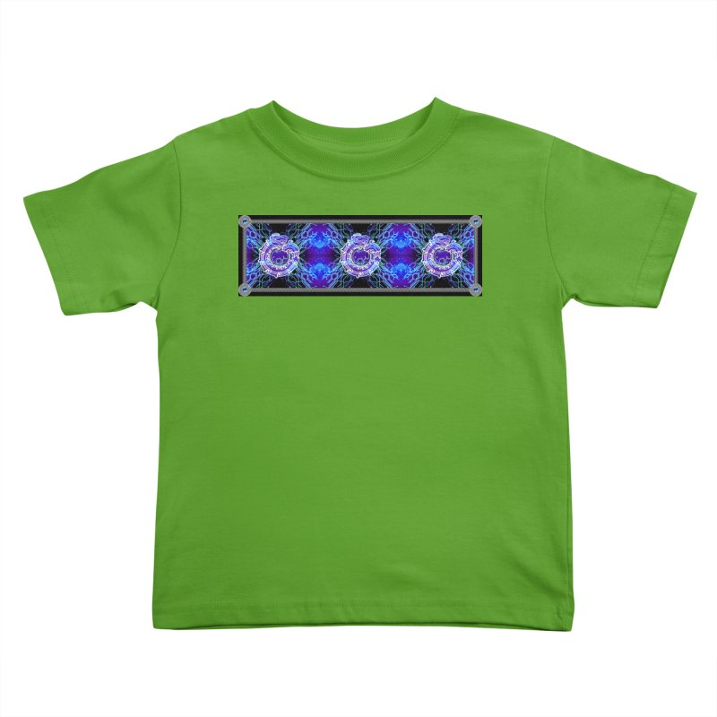 Techno Futura by ChupaCabrales Kids Toddler T-Shirt by ChupaCabrales's Shop
