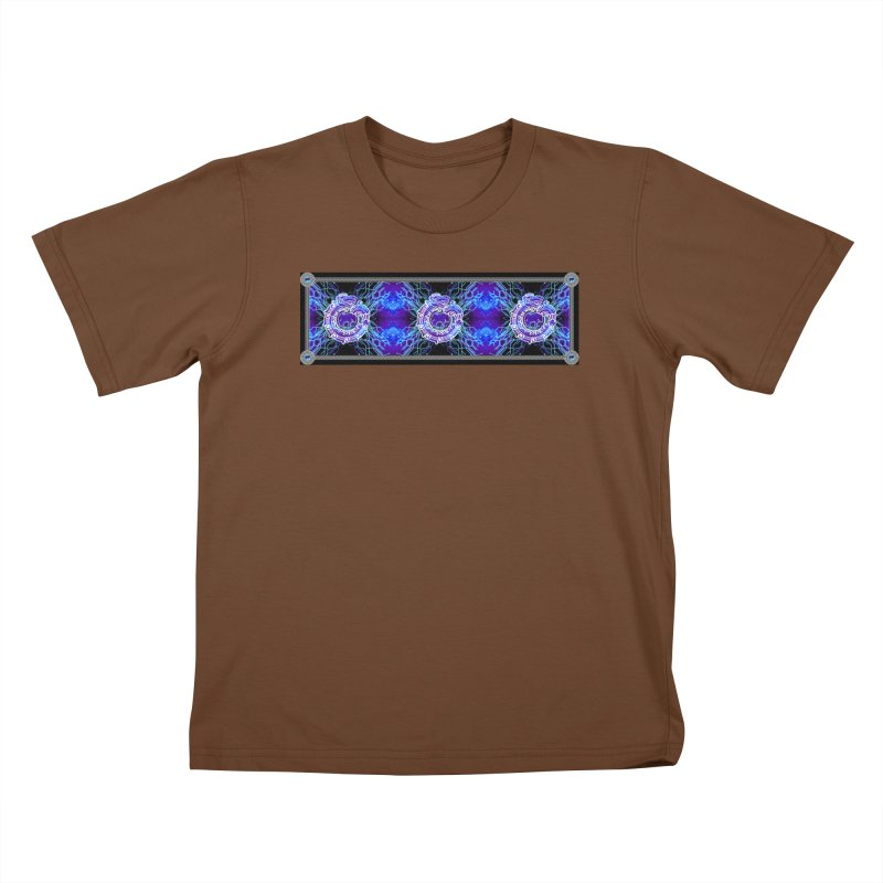 Techno Futura by ChupaCabrales Kids T-Shirt by ChupaCabrales's Shop