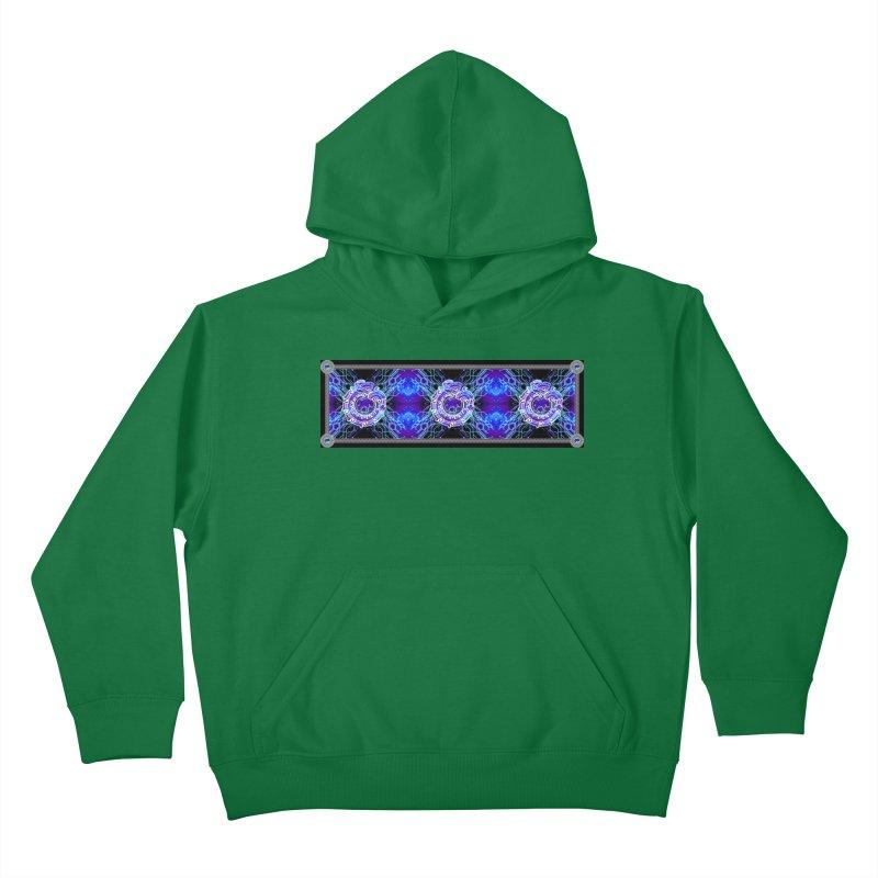 Techno Futura by ChupaCabrales Kids Pullover Hoody by ChupaCabrales's Shop
