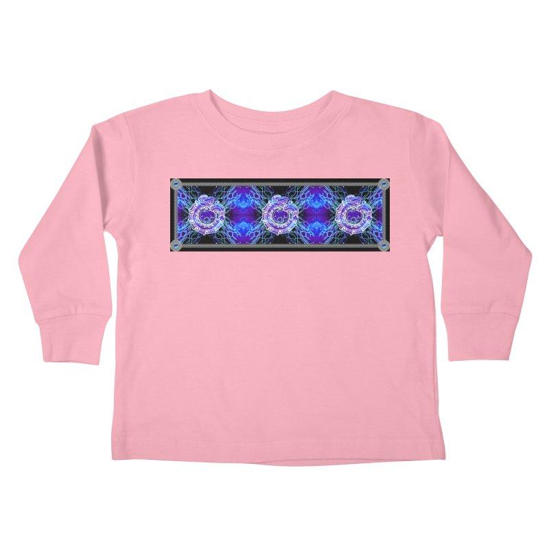 Techno Futura by ChupaCabrales Kids Toddler Longsleeve T-Shirt by ChupaCabrales's Shop