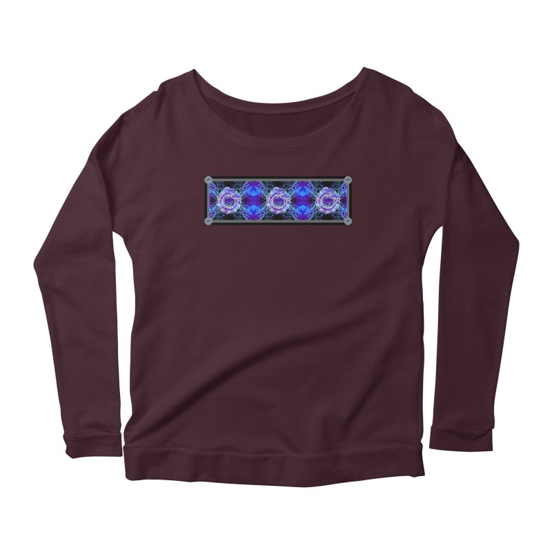 Techno Futura by ChupaCabrales Women's Scoop Neck Longsleeve T-Shirt by ChupaCabrales's Shop