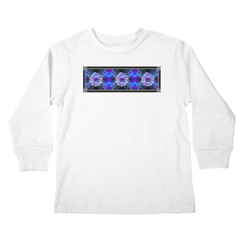 Techno Futura by ChupaCabrales Kids Longsleeve T-Shirt by ChupaCabrales's Shop