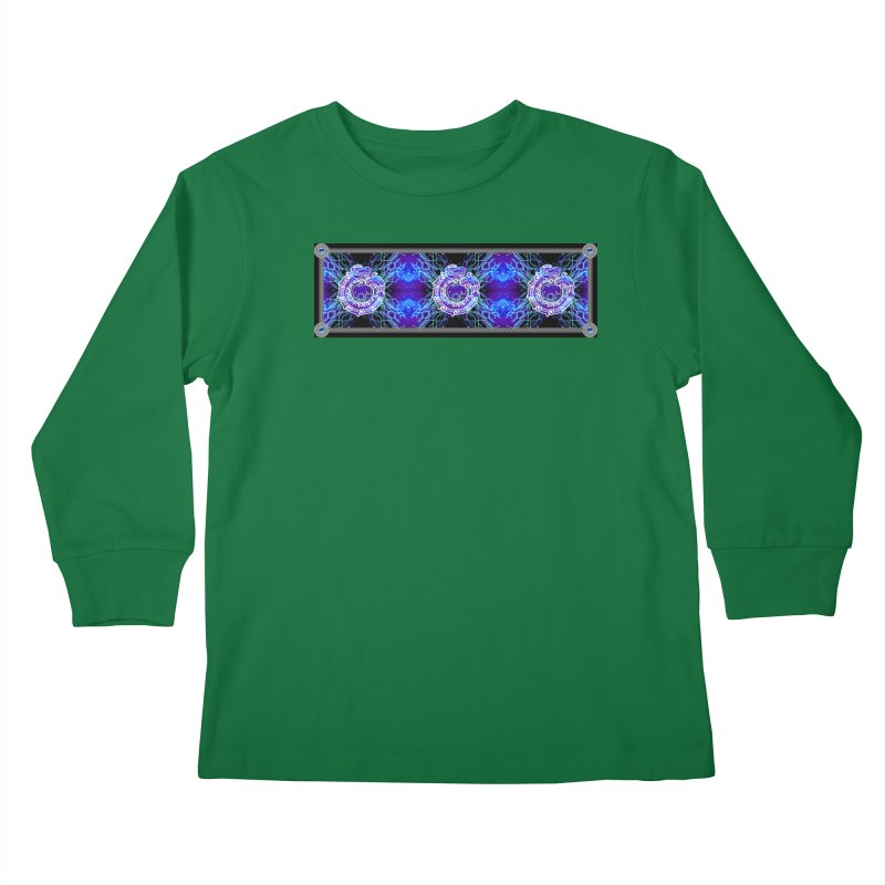 Techno Futura by ChupaCabrales Kids Longsleeve T-Shirt by ChupaCabrales's Shop