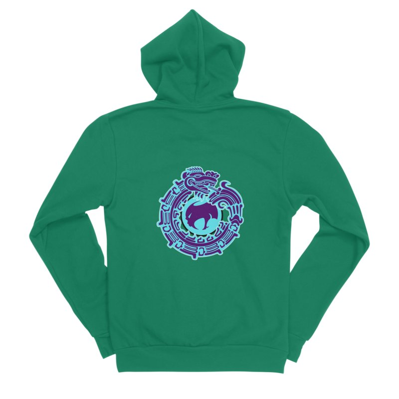 QuetzalChupaCabrales Men's Sponge Fleece Zip-Up Hoody by ChupaCabrales's Shop