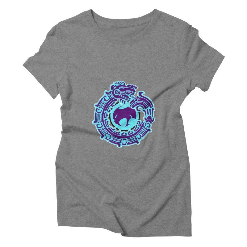 QuetzalChupaCabrales Women's Triblend T-Shirt by ChupaCabrales's Shop