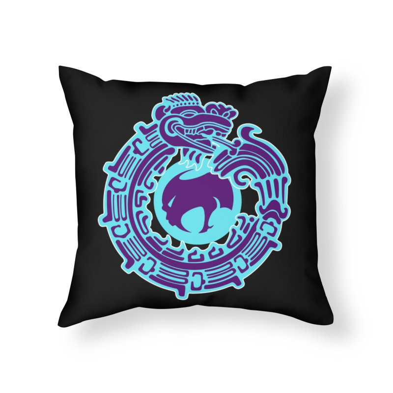 QuetzalChupaCabrales Home Throw Pillow by ChupaCabrales's Shop