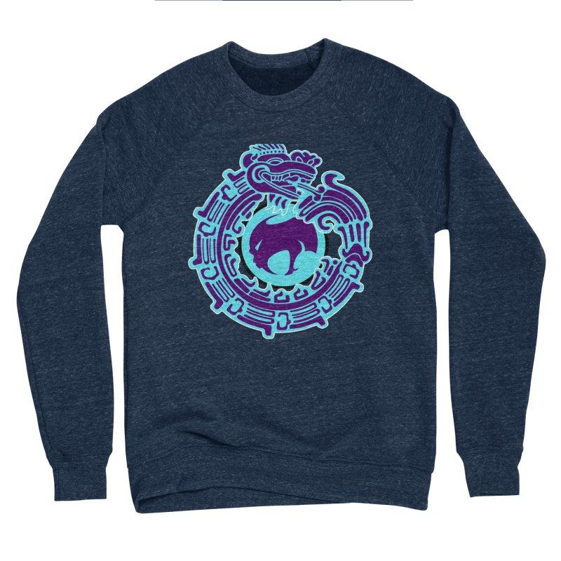 QuetzalChupaCabrales Men's Sponge Fleece Sweatshirt by ChupaCabrales's Shop