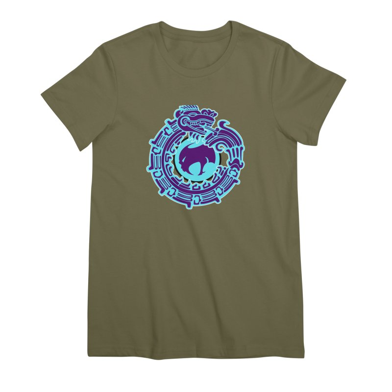 QuetzalChupaCabrales Women's Premium T-Shirt by ChupaCabrales's Shop