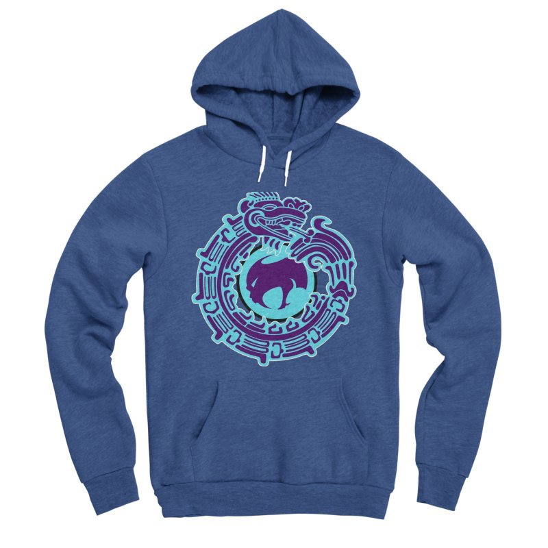 QuetzalChupaCabrales Men's Sponge Fleece Pullover Hoody by ChupaCabrales's Shop