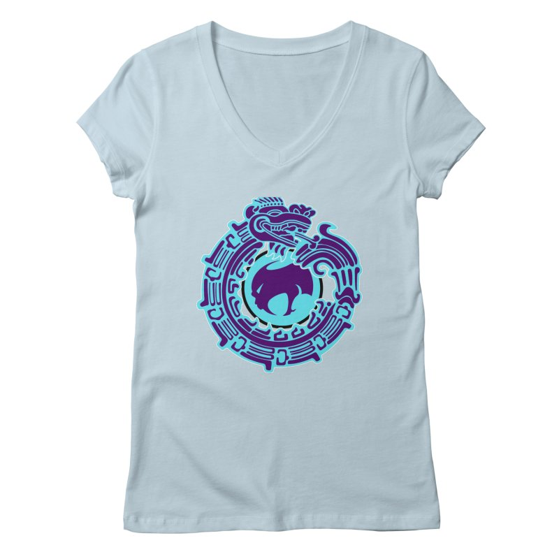 QuetzalChupaCabrales Women's V-Neck by ChupaCabrales's Shop