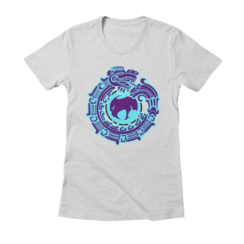 QuetzalChupaCabrales Women's Fitted T-Shirt by ChupaCabrales's Shop