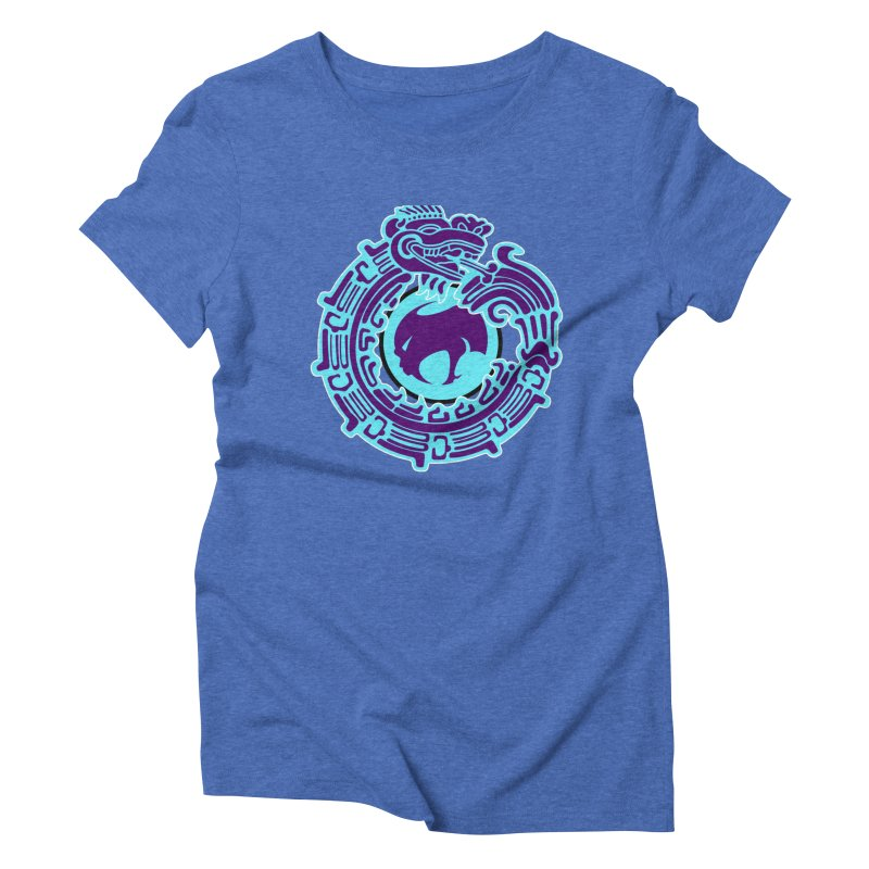 QuetzalChupaCabrales Women's Triblend T-Shirt by ChupaCabrales's Shop