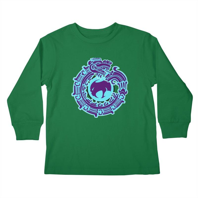 QuetzalChupaCabrales Kids Longsleeve T-Shirt by ChupaCabrales's Shop
