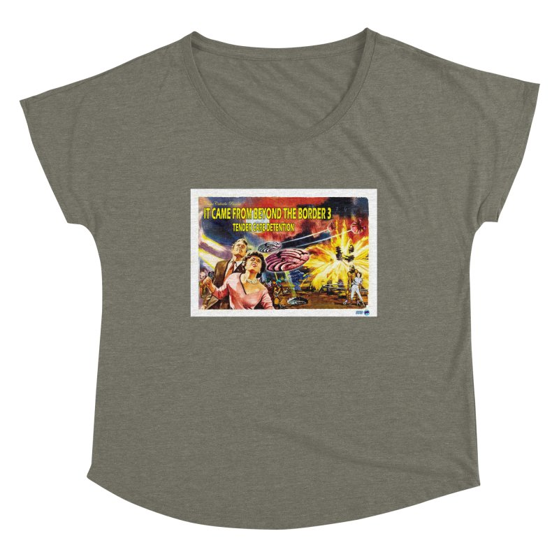 It Came From Beyond the Border 3: Tender Care Detention Women's Scoop Neck by ChupaCabrales's Shop