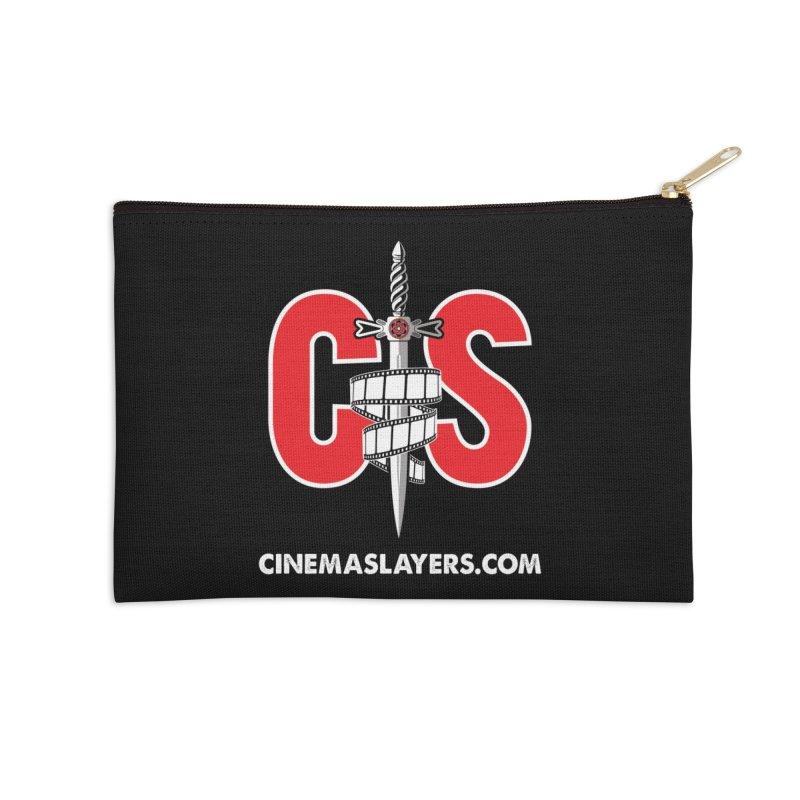CS Logo Accessories Zip Pouch by CinemaSlayers's Artist Shop