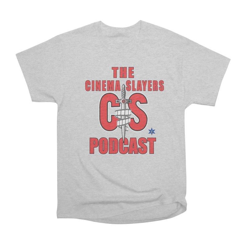 CS Logo Women's Heavyweight Unisex T-Shirt by Cinema Slayers's Artist Shop