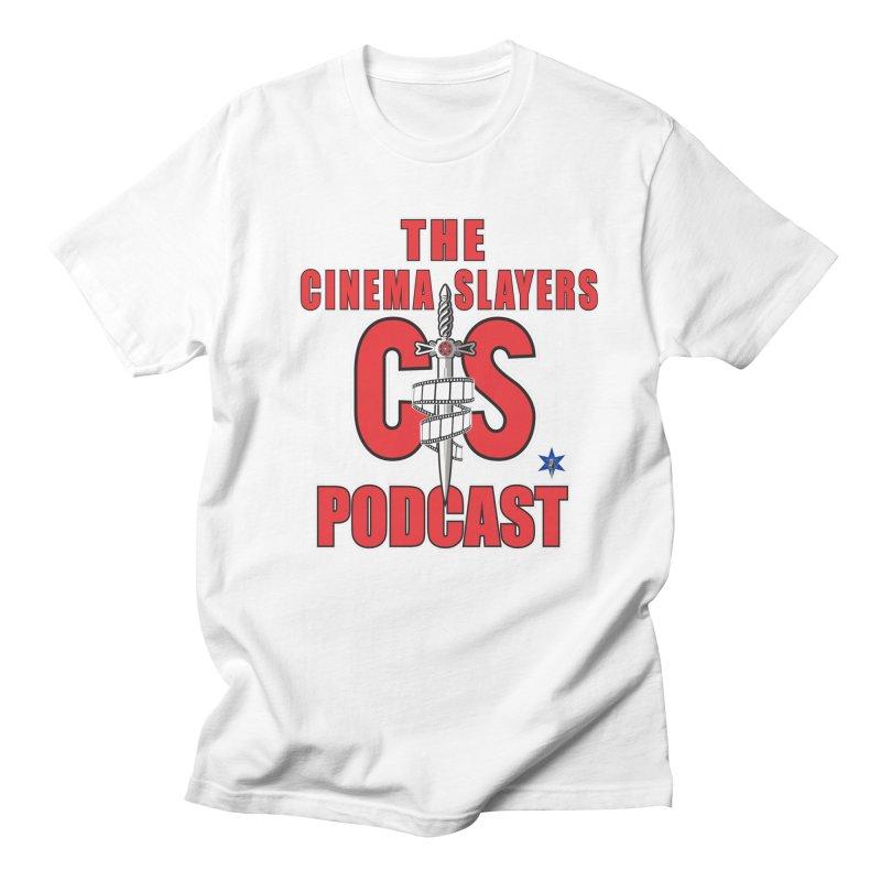 CS Logo Men's Regular T-Shirt by Cinema Slayers's Artist Shop