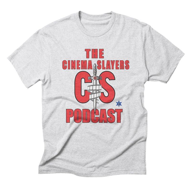 CS Logo Men's Triblend T-Shirt by Cinema Slayers's Artist Shop