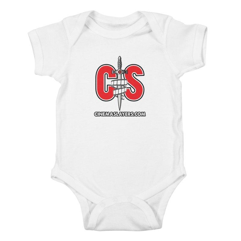 CS Logo Kids Baby Bodysuit by Cinema Slayers's Artist Shop