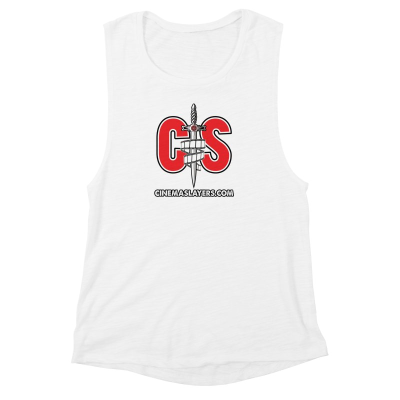CS Logo Women's Muscle Tank by CinemaSlayers's Artist Shop