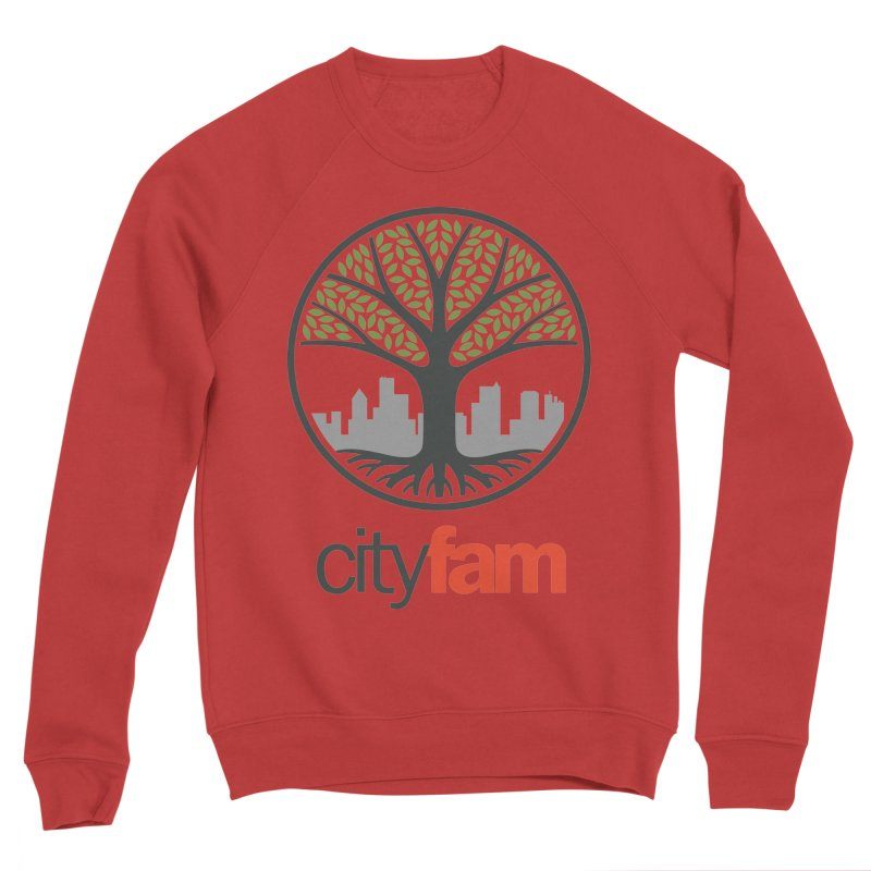 Cityfam Tree Men's Sponge Fleece Sweatshirt by City Fam's Artist Shop