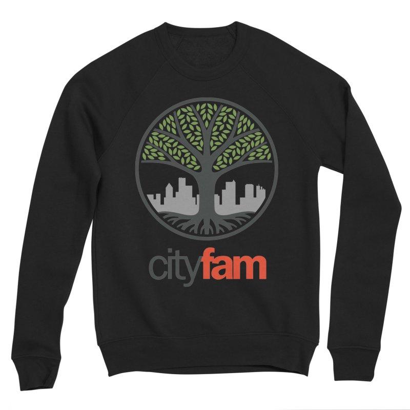 Cityfam Tree Men's Sponge Fleece Sweatshirt by City Fam's Artist Shop