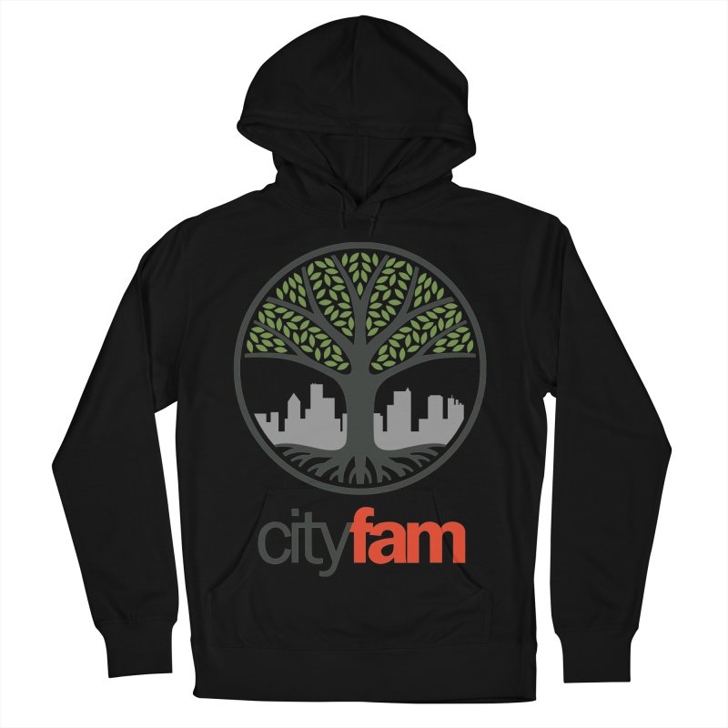 Cityfam Tree Women's French Terry Pullover Hoody by City Fam's Artist Shop