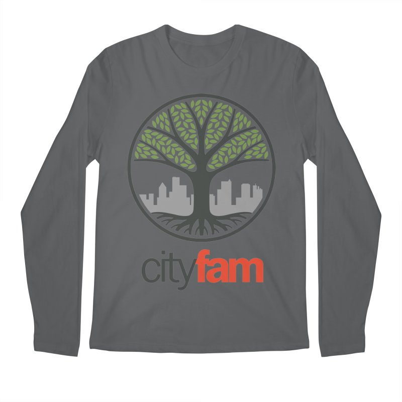 Cityfam Tree Men's Regular Longsleeve T-Shirt by Cityfam's Artist Shop