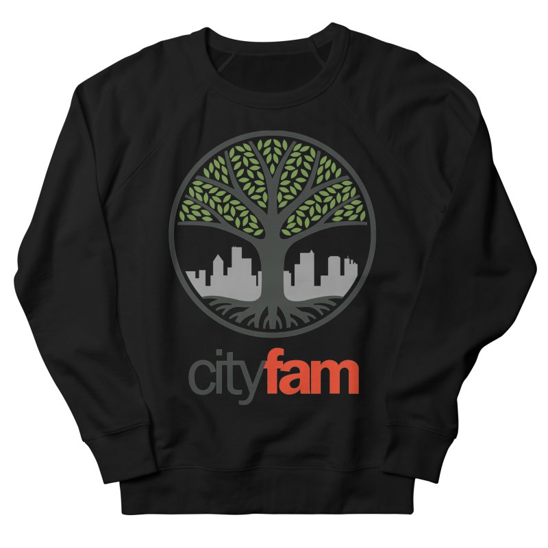 Cityfam Tree Women's French Terry Sweatshirt by Cityfam's Artist Shop