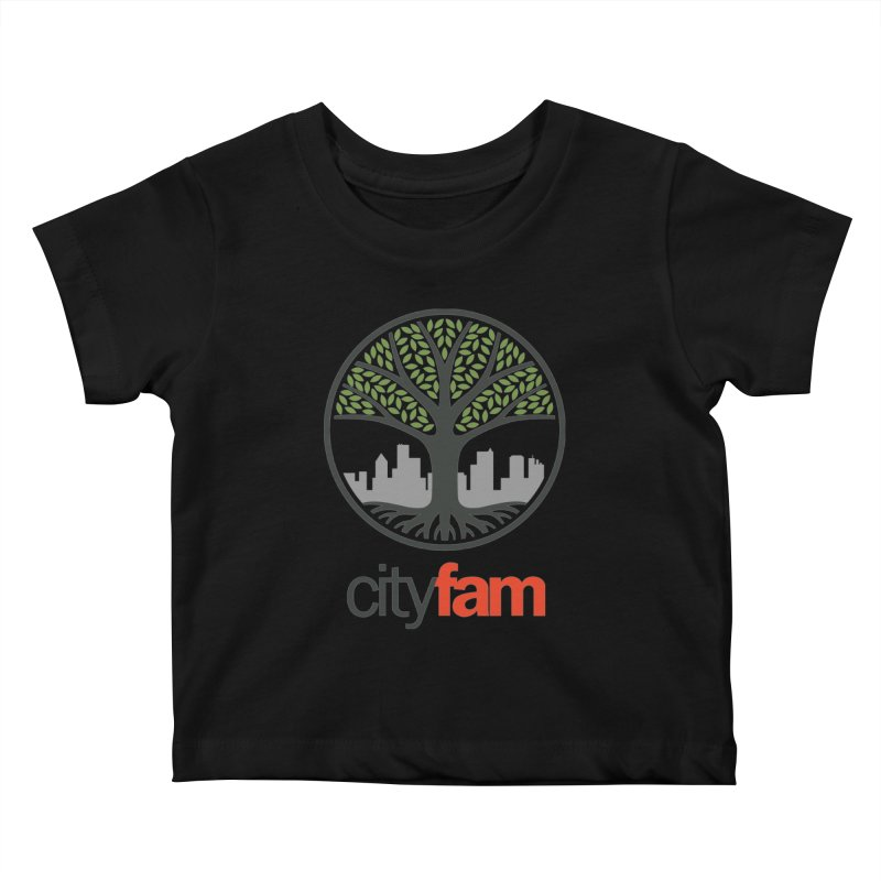 Cityfam Tree Kids Baby T-Shirt by Cityfam's Artist Shop