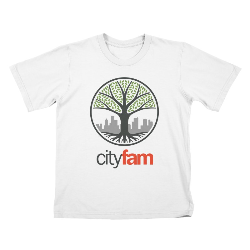 Cityfam Tree Kids T-Shirt by City Fam's Artist Shop