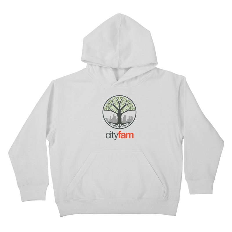 Cityfam Tree Kids Pullover Hoody by Cityfam's Artist Shop