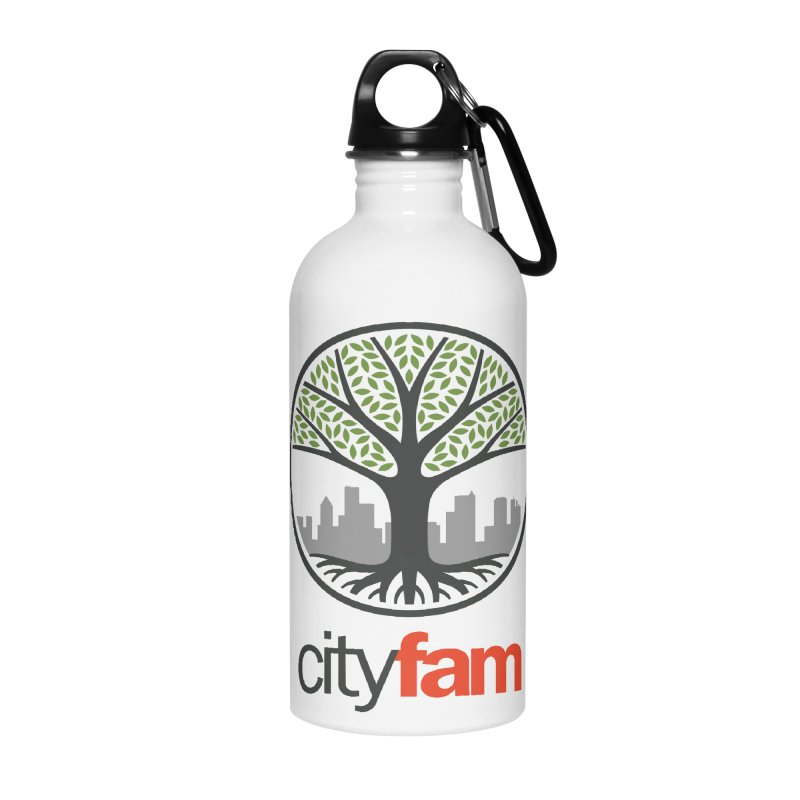 Cityfam Tree Accessories Water Bottle by City Fam's Artist Shop