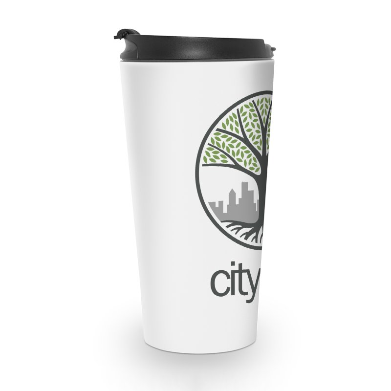 Cityfam Tree Accessories Travel Mug by City Fam's Artist Shop