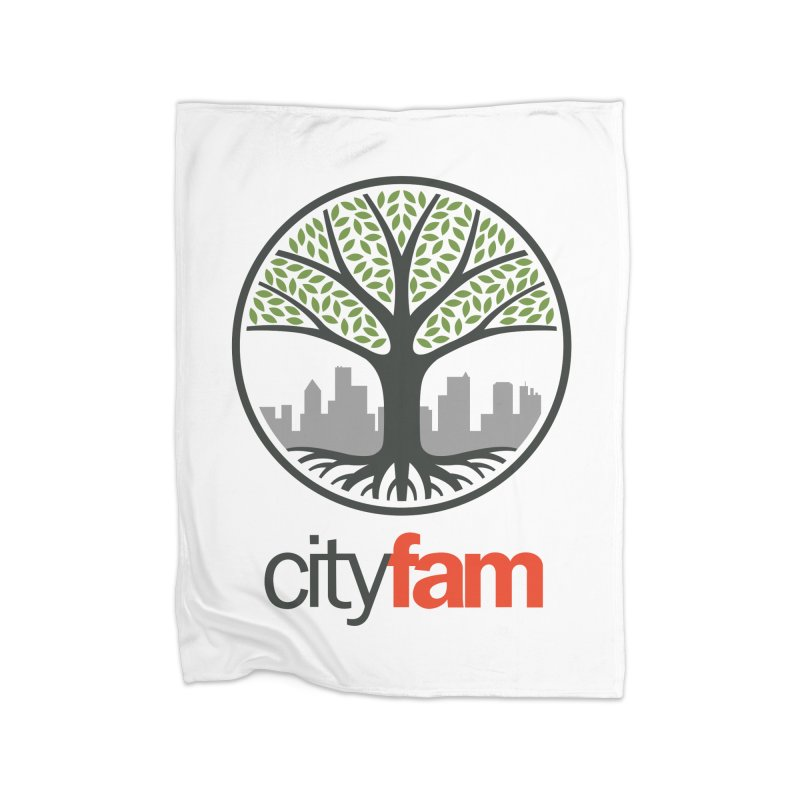 Cityfam Tree Home Blanket by Cityfam's Artist Shop