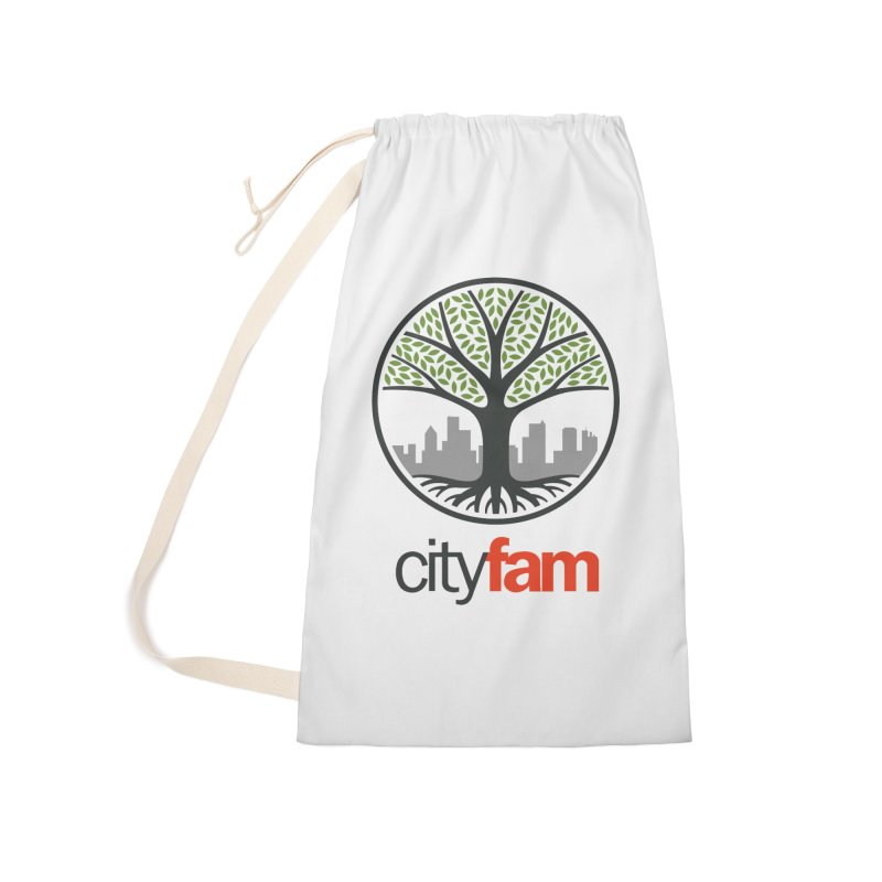 Cityfam Tree Accessories Laundry Bag Bag by City Fam's Artist Shop