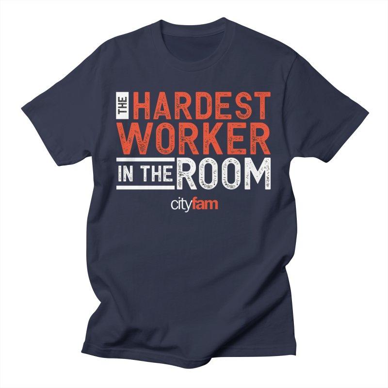 Hardest Worker Men's T-Shirt by City Fam's Artist Shop