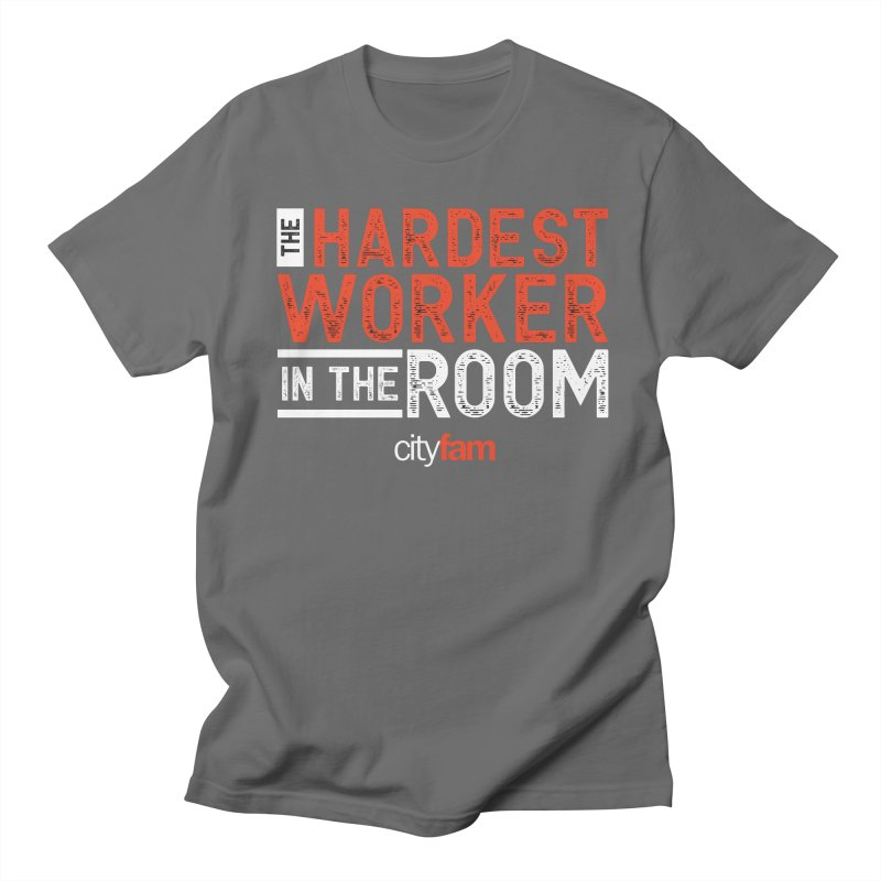 Hardest Worker Men's T-Shirt by City Fam's Artist Shop