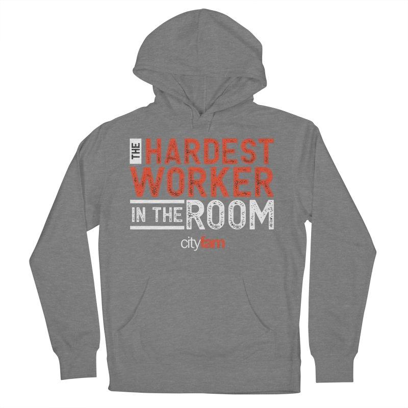 Hardest Worker Women's Pullover Hoody by City Fam's Artist Shop