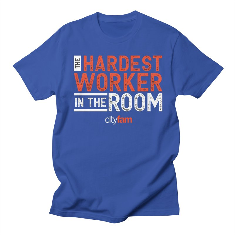 Hardest Worker Men's Regular T-Shirt by City Fam's Artist Shop