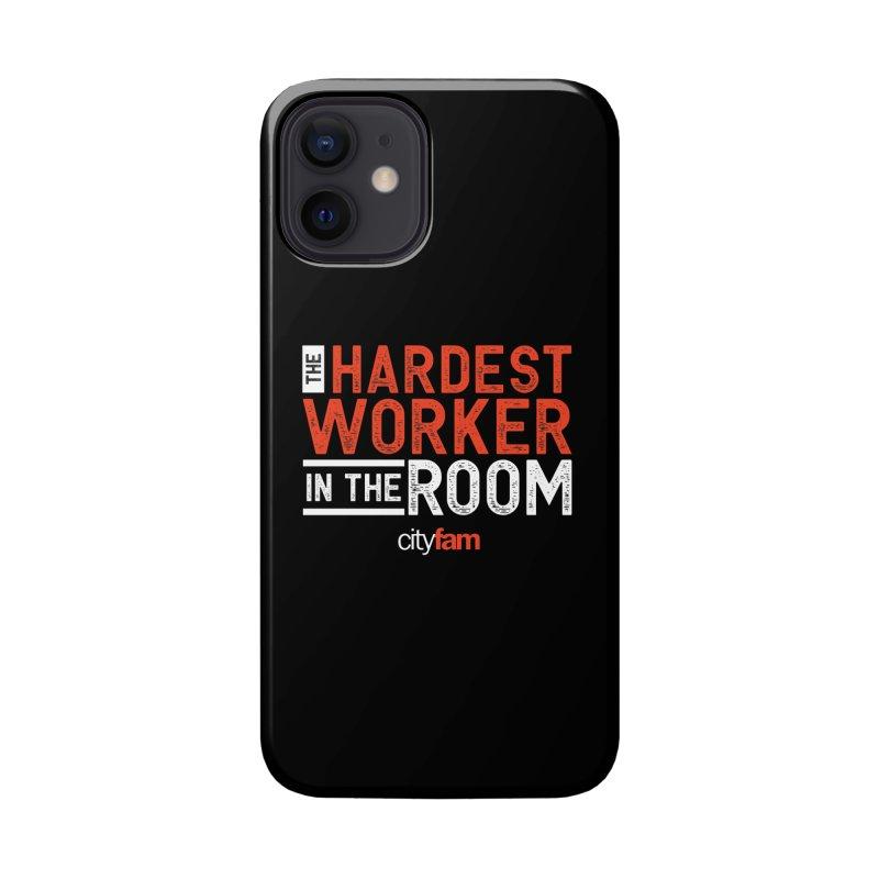 Hardest Worker Accessories Phone Case by City Fam's Artist Shop