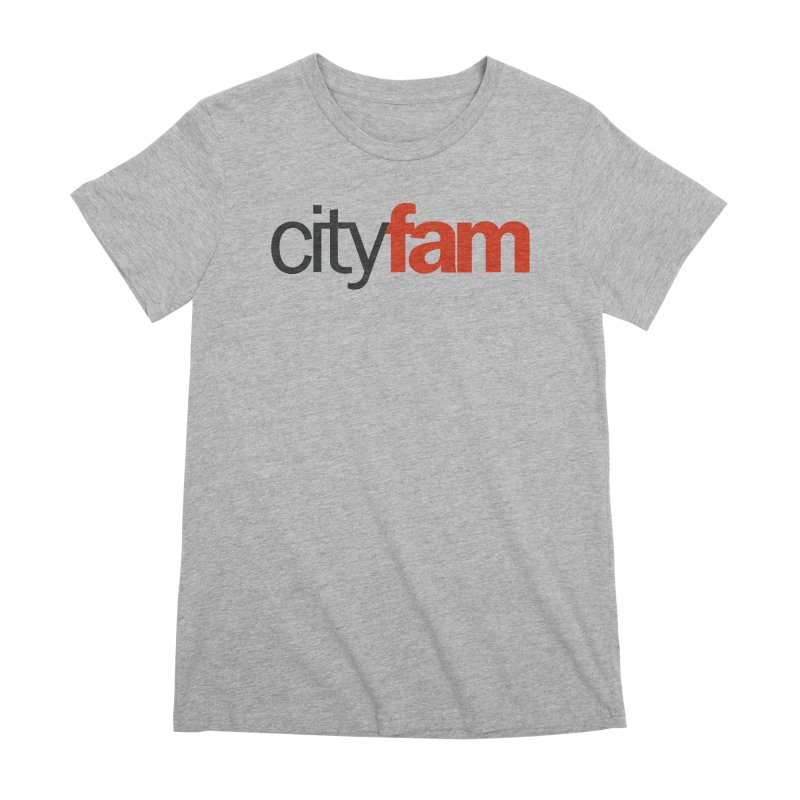 CityFam Women's Premium T-Shirt by Cityfam's Artist Shop
