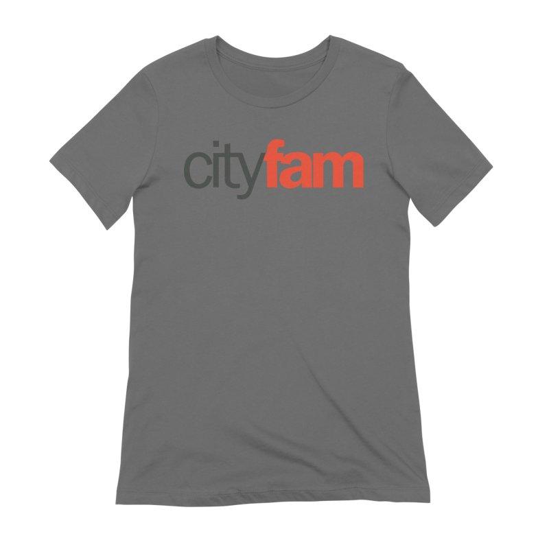 CityFam Women's Extra Soft T-Shirt by Cityfam's Artist Shop