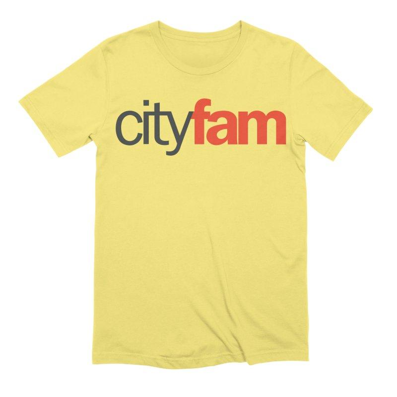 CityFam Men's Extra Soft T-Shirt by Cityfam's Artist Shop