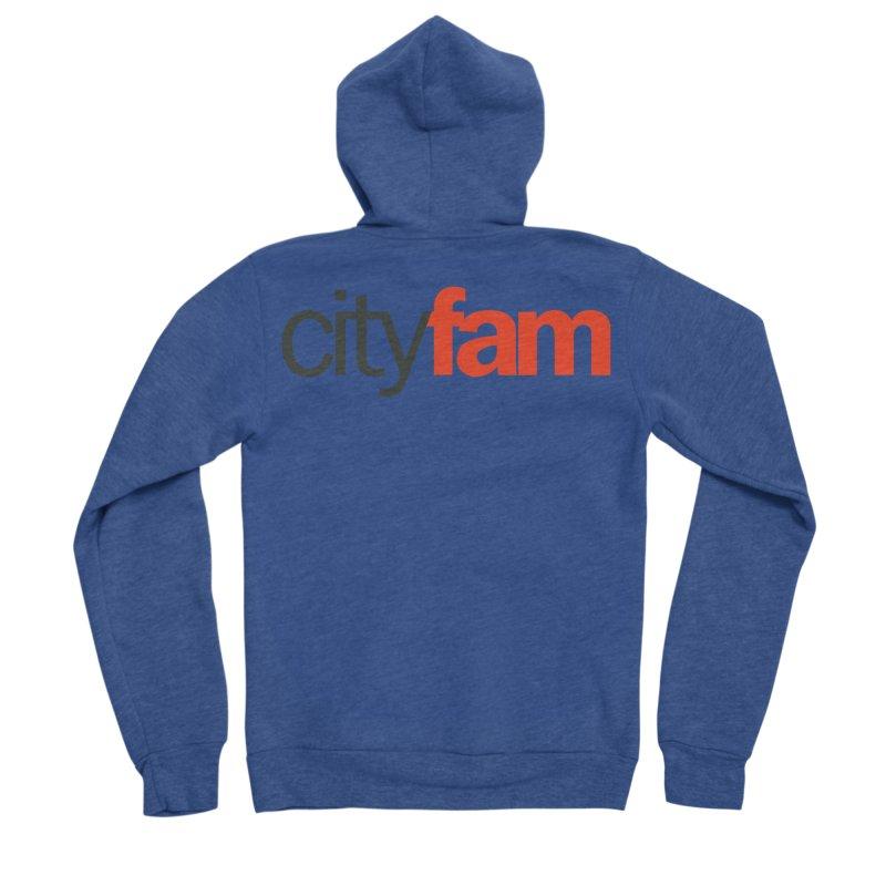 CityFam Men's Sponge Fleece Zip-Up Hoody by Cityfam's Artist Shop