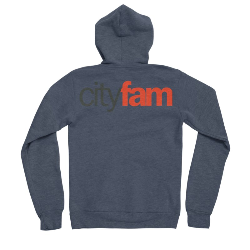 CityFam Women's Sponge Fleece Zip-Up Hoody by Cityfam's Artist Shop