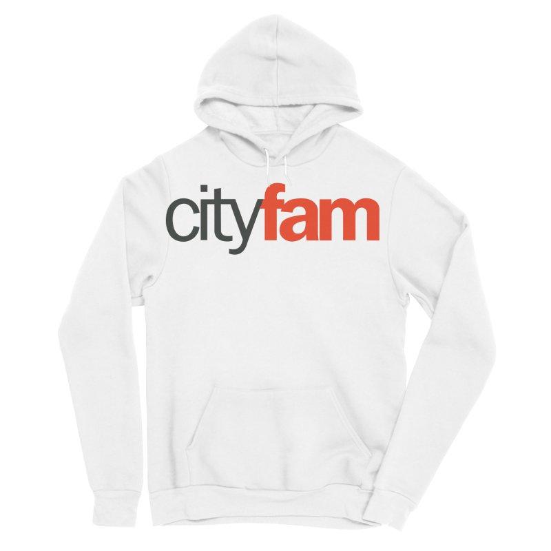 CityFam Men's Sponge Fleece Pullover Hoody by Cityfam's Artist Shop