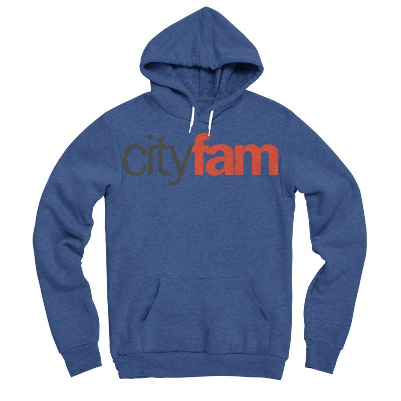 CityFam Women's Sponge Fleece Pullover Hoody by Cityfam's Artist Shop