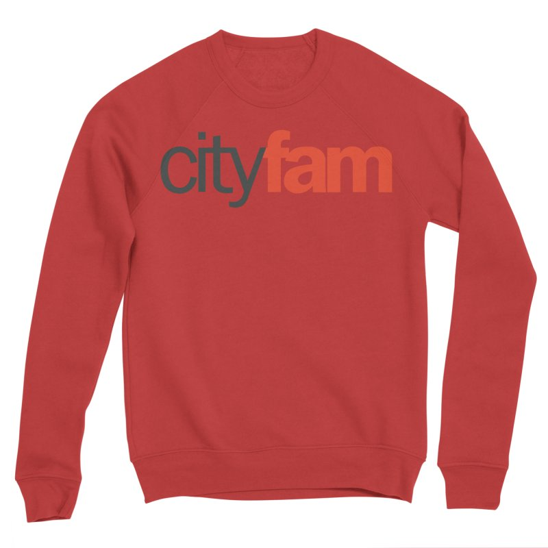 CityFam Men's Sponge Fleece Sweatshirt by City Fam's Artist Shop