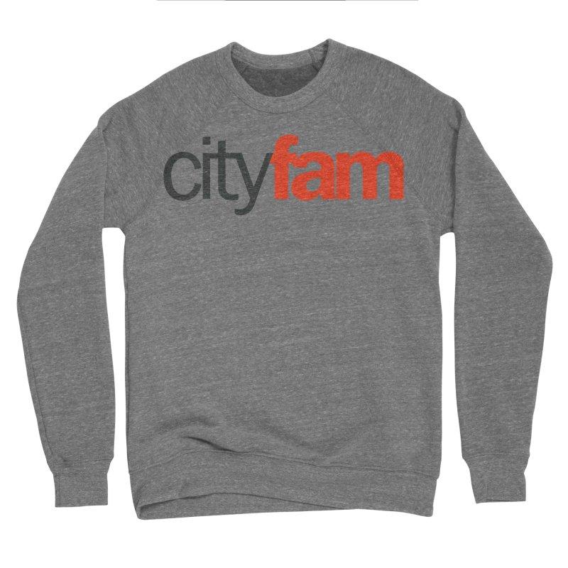 CityFam Men's Sponge Fleece Sweatshirt by City Fam's Artist Shop